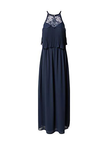Chi Chi London Damen Abendkleid Heidie Navy 12 (40)