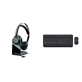 Plantronics Voyager Focus UC Bluetooth USB B825 202652-01 Headset with Active Noise Cancelling Bundle with Logitech MK545 Advanced Wireless Keyboard and Mouse Combo (B0822W6BYM) | Amazon price tracker / tracking, Amazon price history charts, Amazon price watches, Amazon price drop alerts