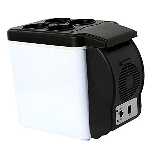 6 litros Frigoríficos, Mini Nevera de Coche,portátil Eléctrica Neveras de Viaje, congelador del automóvil, 12V CC Coche Refrigerador, para Hogar Aire Libre Camping