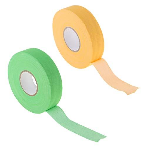 CUTICATE 2 Rolls Hockey Stick Blade Shaft Bat Cloth Sleeve Badminton Tennis Grip