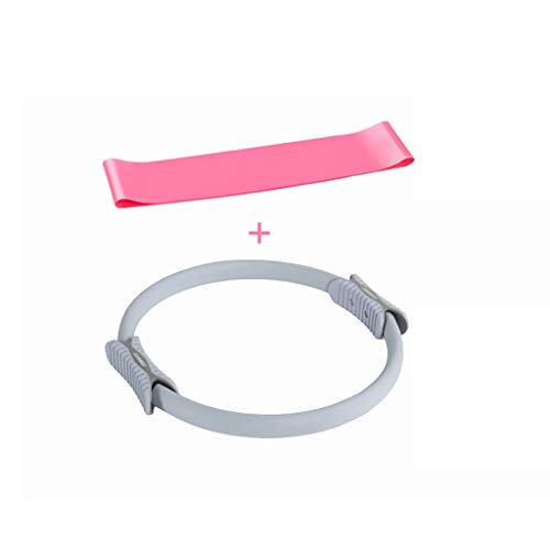 YULAN Pilates Anillo Muscular del Suelo pélvico Postparto Fitness Equipment Supplies Yoga Yoga Círculo del Anillo del círculo mágico Tubo de Estufa (Color : A)
