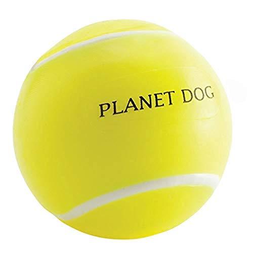 Planet Dog Orbee-Tuff - Kauspielzeug für Hunde - Snackball im Tennisball-Design