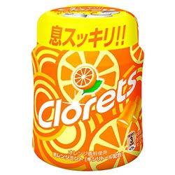 モンデリーズ・ジャパン クロレッツXP ボトルR オレンジミント(粒ガム) 140g×6個入