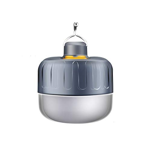 ZRJ Lámparas Lámpara De Carpa Linterna Eléctrica LED Luces De Emergencia con Gancho Colgante Recargable para Camping Al Aire Libre Interior Camping Accesorios (Color : Blue)