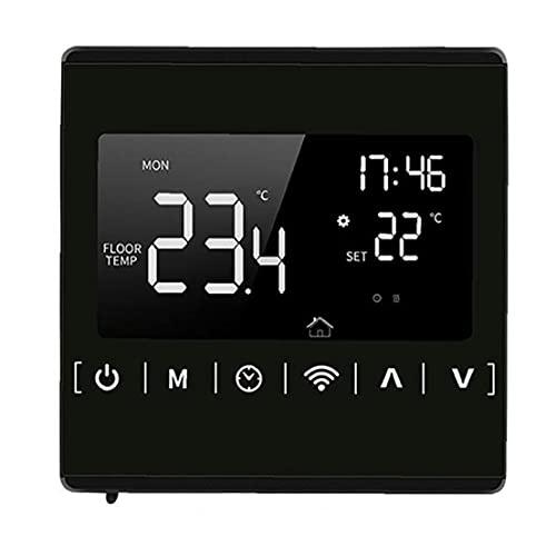 Runfon LCD Screen Screen Suelo Calefacción Temperatura Control Remoto Termostato Inteligente WiFi