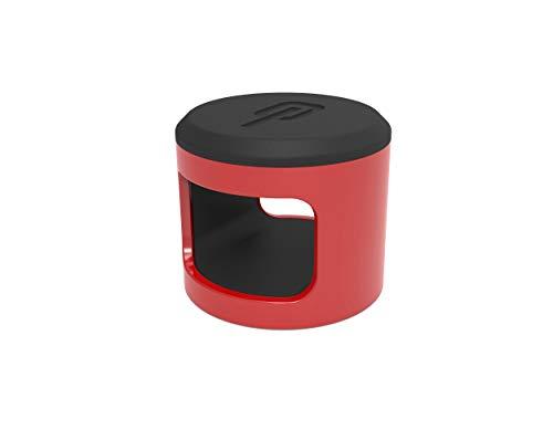 Hiplok Unisex– Erwachsene ANKR Sicherheitsanker, RED, 10cm x 10cm