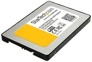 Startech SAT2M2NGFF25 - Adaptador SSD M.2 a SATA III de 2.5