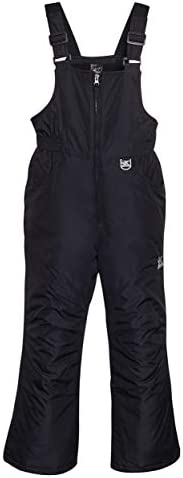 ZeroXposur Girls Snow Bib Water Repellent Insulated Kids Ski Pants Black Small product image