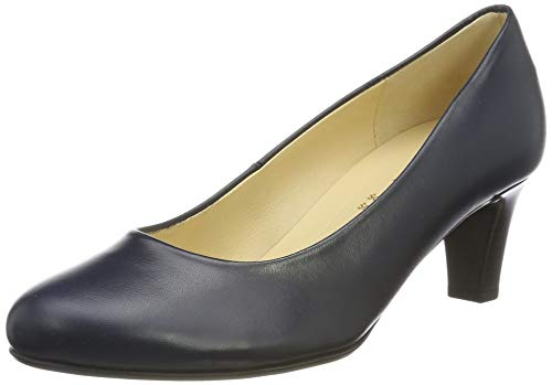Gabor Shoes Gabor Basic, Damen Pumps, Blau (Ocean 36), 39 EU (6 UK)