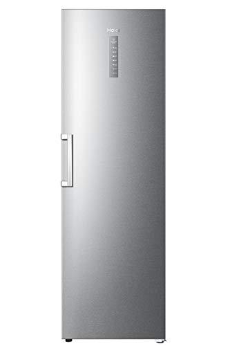 Haier H3F-320FSAAU1 Instaswitch - Congelador (apto como congelador o nevera, A++, 190, 5 cm de altura, 59,5 cm de ancho, 330 L de contenido neto), color plateado
