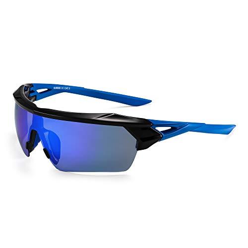 GLINDAR Gafas de sol polarizadas deportivas hombres Gafas de sol con protección...