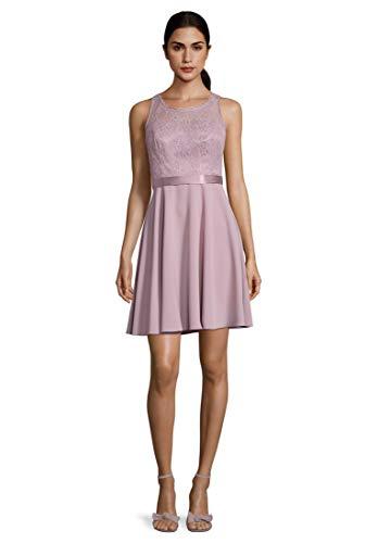 Vera Mont Damen 0100/4938 Kleid, Rosa (Elderberry 6245), (Herstellergröße: 40)