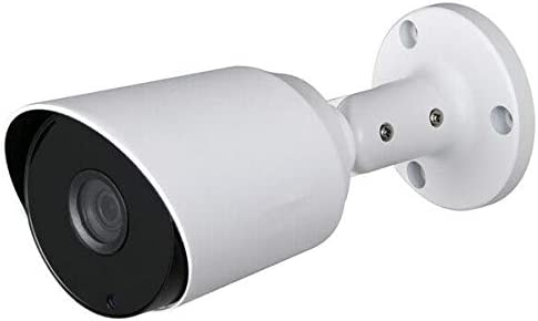 Dahua OEM HAC-HFW1400S 4 Megapixel Analog 2 in 1 (HD-CVI, 960H) Small IR Bullet Security Camera 100FT Night Vision Outdoor Weatherproof HD Over Coax 3.6mm 4MP (Local Support No Logo)