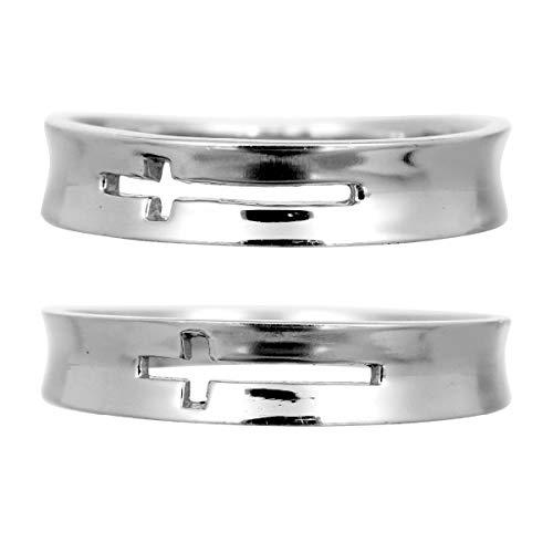 [ココカル]cococaru 結婚指輪 ペアリング プラチナ Pt900 2本セット 日本製 (レディースサイズ17号 メンズサイズ11号)
