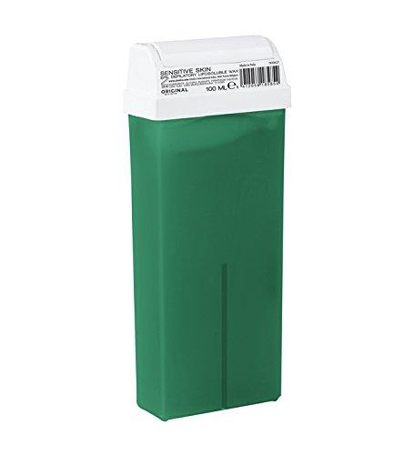 Cartouche De Cire Epilation Verte - Peau sensible