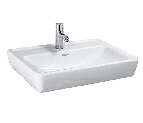 Laufen PRO A Waschtisch, 1 Hahnloch, mit Überlauf, 550x480, weiß, Farbe: Bahamabeige