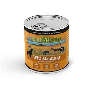Wildborn Wild Mustang Nassfutter mit Pferdefleisch 6 x 800 g