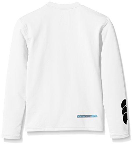 Canterbury Boy's Baselayer Cold Long Sleeve Top - Small, White
