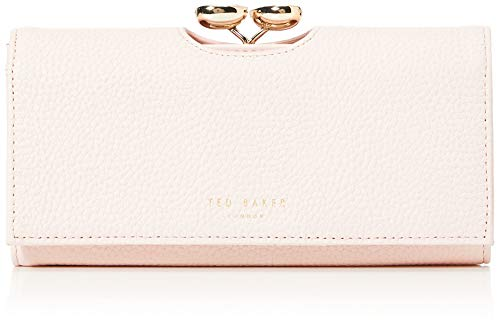 Ted Baker Womens ALYYSAA Travel Accessory Bi Fold Wallet LT Pink One Size