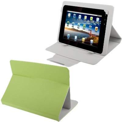 JIANGHONGYAN Funda de Cuero Universal con Soporte for Tablet PC de 9,0 Pulgadas (Blanco) (Color : Green)