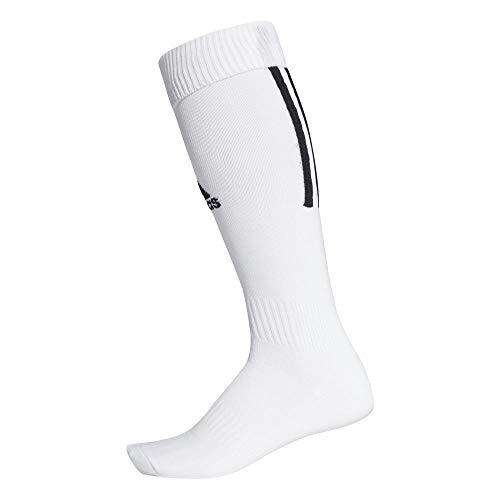 adidas Santos Sock 18 Calcetines, Unisex Adulto, White/Black, 4042