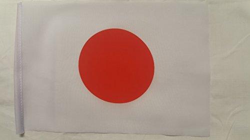Mini bandera de Japón - (22,86 cm x 15,24 cm)