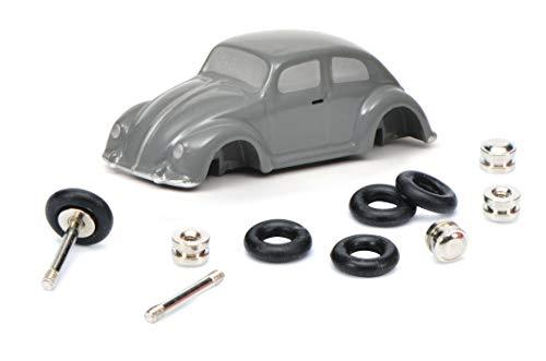 Schuco 450559700 Piccolo Montagekasten VW-Monteur 450559700-Piccolo, Modellauto, Modellfahrzeug, grau