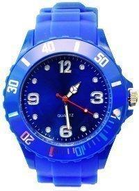 Avcibase **Premium** BLAU SILIKON UHR XL Mode UNISEX Armbanduhr Damenuhr Herrenuhr Sport STYLE Trend WATCH stark in der Mode Qualitäts Uhren Top Qualität Absolutes Must-Have! Keine billig Farbe in BLAU von?