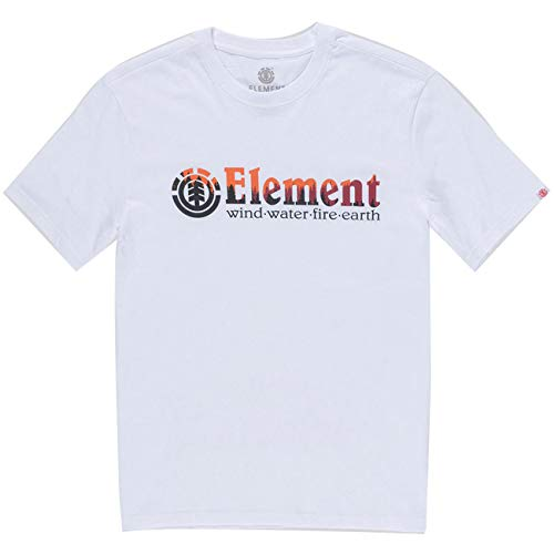 Element Herren Glimpse T-Shirt weiß XL