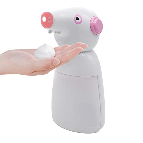 Irinuski Dispensador Jabon Automatico 330ml en Espuma para Baño, Ducha, Cocina. Dosificador Jabón líquido, Gel y Champú. Automatic Soap Dispenser and Touchless