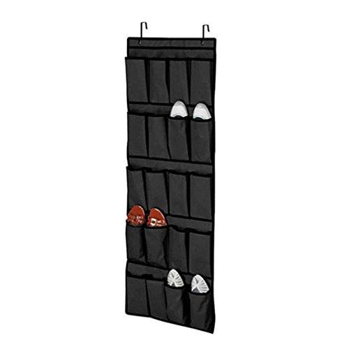 super179820bolsillos sobre la puerta zapatero para colgar bolsa de almacenamiento de ahorro de espacio RACK organizador