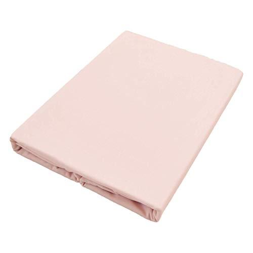 フラットシーツ シングル 綿100% 日本製 防ダニ 150X250cm オックス 厚手 ピンク