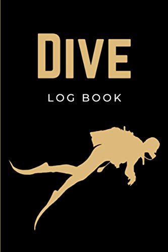 Dive Log Book: Diver's Logbook | Scuba Diving Log Book Journal | Divers Notebook for Training, Certification & Recreation | Novelty Scuba Diving Gifts for Men, Women, Teens & Kids
