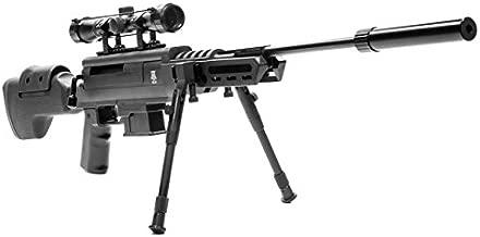 Black Ops Break Barrel Sniper Air Rifle - Spring Piston Sniper .22 Airgun - Shoot .22 BBs -Scope Included