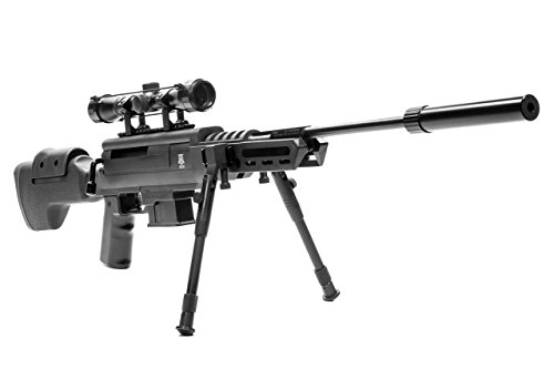 Black Ops Break Barrel Sniper Air Rifle - Spring Piston...