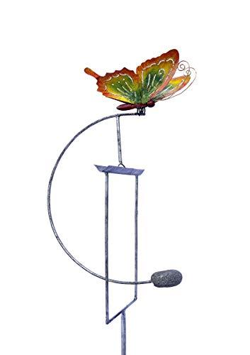 SK Style Gartenwind-Spinner-Skulptur - Farbiger Schmetterling