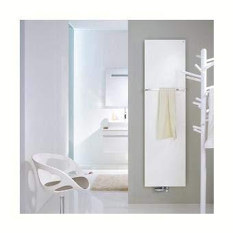 Zehnder Fina Design elektrische radiator FIPE-180-050/GP, Badkamerradiatoren: Wit RAL 9016 - ZFP22150B100000