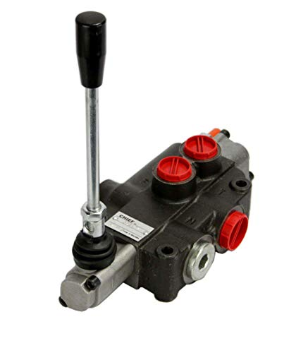 Chief P80 Directional Control Valve(G Series): 21 GPM, 3625 PSI, 1 Motor Spool and 3-pos. Detent, SAE 10/12 Inlet/Outlet Ports and SAE 10 Work Ports, 220955