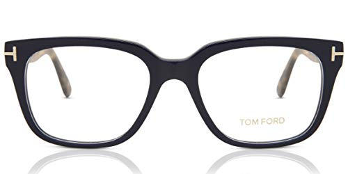 Tom Ford FT5477 53090 Tom Ford Optical Frame FT5477 090 53 rechthoekig brilmontuur 53, blauw