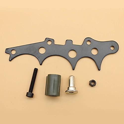 Kit de captura de cadena de púas de parachoques de perro talador para HUSQVARNA 372, 371, 365, 362, piezas de repuesto para motosierra