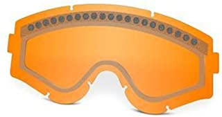 Oakley E-Frame/ L-Frame Dual Vent Goggle Replacement Lens (Persimmon)