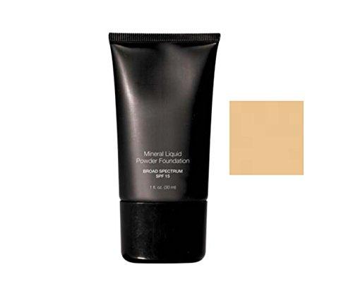 Beauty Deals Mineral Liquid Powder Foundation Broad Spectrum SPF 15 (Vanilla Cream)