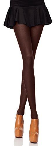 Merry Style Blickdichte Damen Strumpfhose Microfaser 70 DEN (Caffee, 3 (36-40))