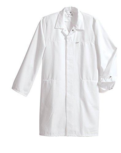 neoLab 4-1572 Berufsmantel, HACCP-gerecht, 65 Prozent PES, 35 Prozent CO, Groß, Weiß