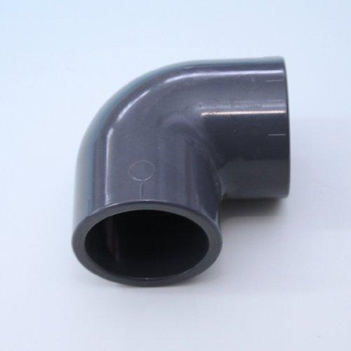 PVC d'angle 90 °, 2 x Manchon adhésives 40 mm