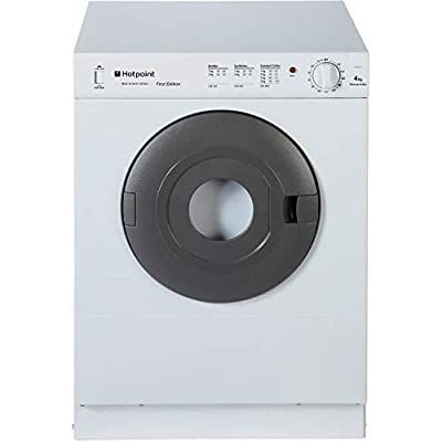 Hotpoint NV4D01P First Edition' 4kg Freestanding Front Vented Tumble Dryer - White