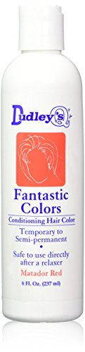 Dudley's Fantastic Colors Conditioning Hair Color, Matador Red, 8 Ounce