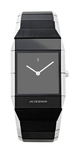 Jacob Jensen 550 - Reloj de Mujer de Cuarzo, Correa de Acero Inoxidable Color