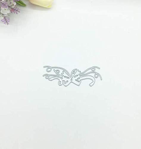 RKZM masker bloem DIY snijmes vorm koolstofstaal mes vorm puzzel reliëfmes sjabloon ponsen voor het maken van kaarten 9,8 x 3,8 cm