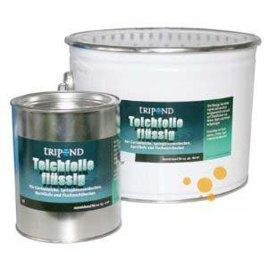 Tripond Teichfolie flüssig, schwarz, 30 Liter für 45m²